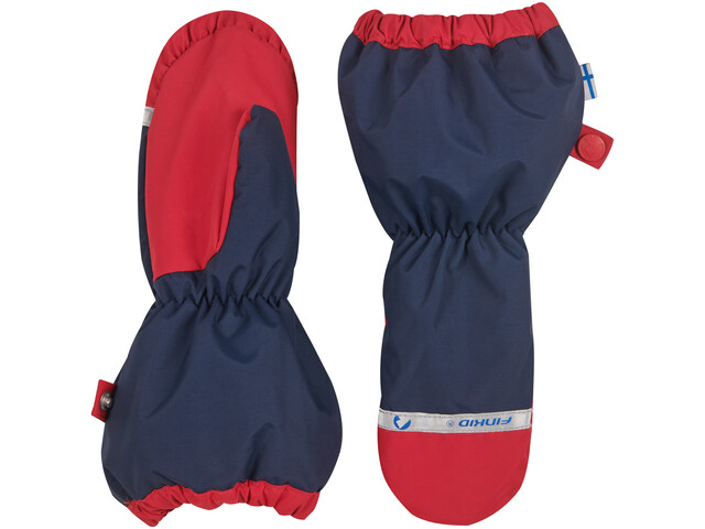 Finkid Pakkanen Outdoor Mittens with Snowcuff Barn navy/red